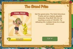 final prize king butt