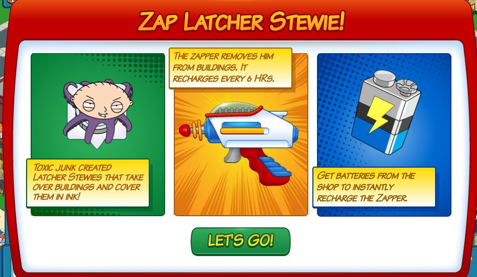 Zapper latch 2