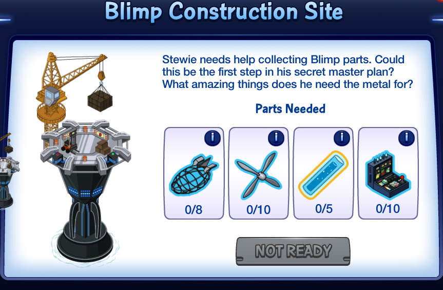 Blimp Construction Site