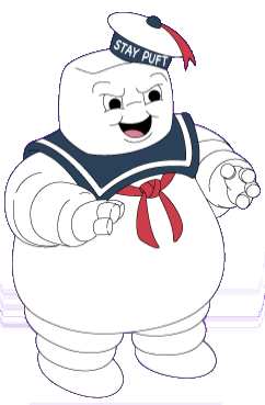 Stay Puft Marshmallow Man Image