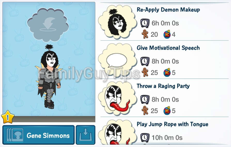 Premium Character, KISS: What can you make Gene Simmons do ...
